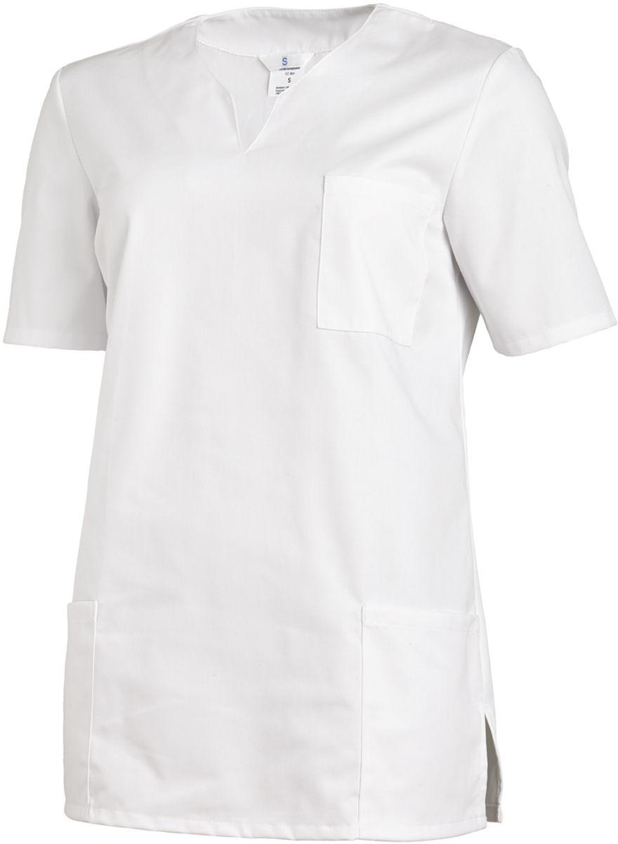 355c4abf3bde9c LEIBER-Jobwear, Damen Arbeits-Berufs-Schlupf-Jacken 1/2 Arm, weiß