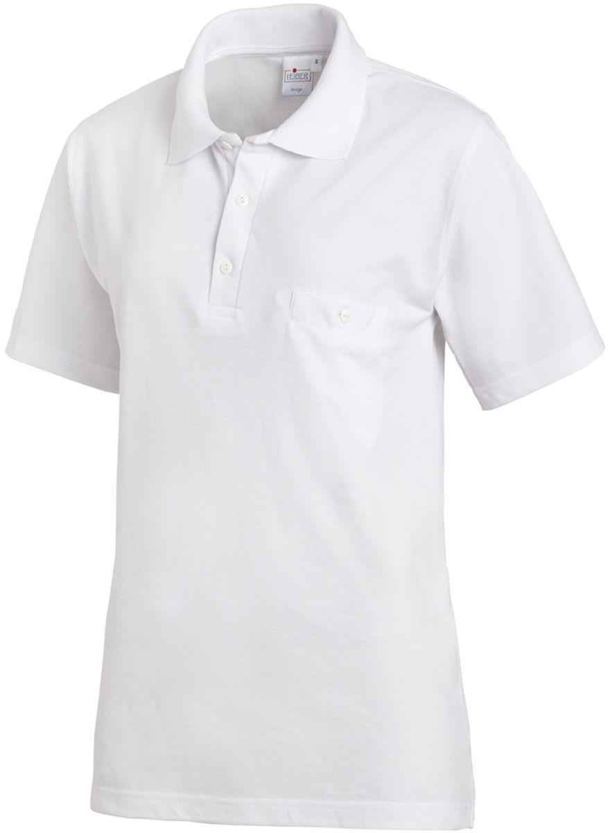 a2a498778d71 LEIBER-Jobwear Food-HACCP-Arbeits-Berufs-Polo-Shirt 1 2 Arm weiß