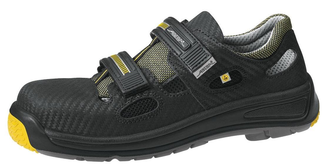 info for d629c 0bb54 ABEBA-Footwear, S1-Damen- u. Herren-Arbeits-Berufs-Sicherheits-Sandale,  schwarz