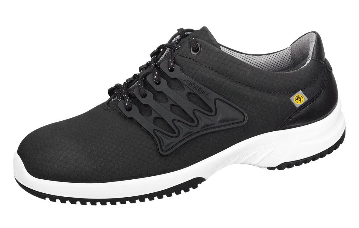 ABEBA Footwear, S1 Uni6 Damen u. Herren Sicherheits Arbeits Berufs Schuhe, Halbschuhe, schwarz