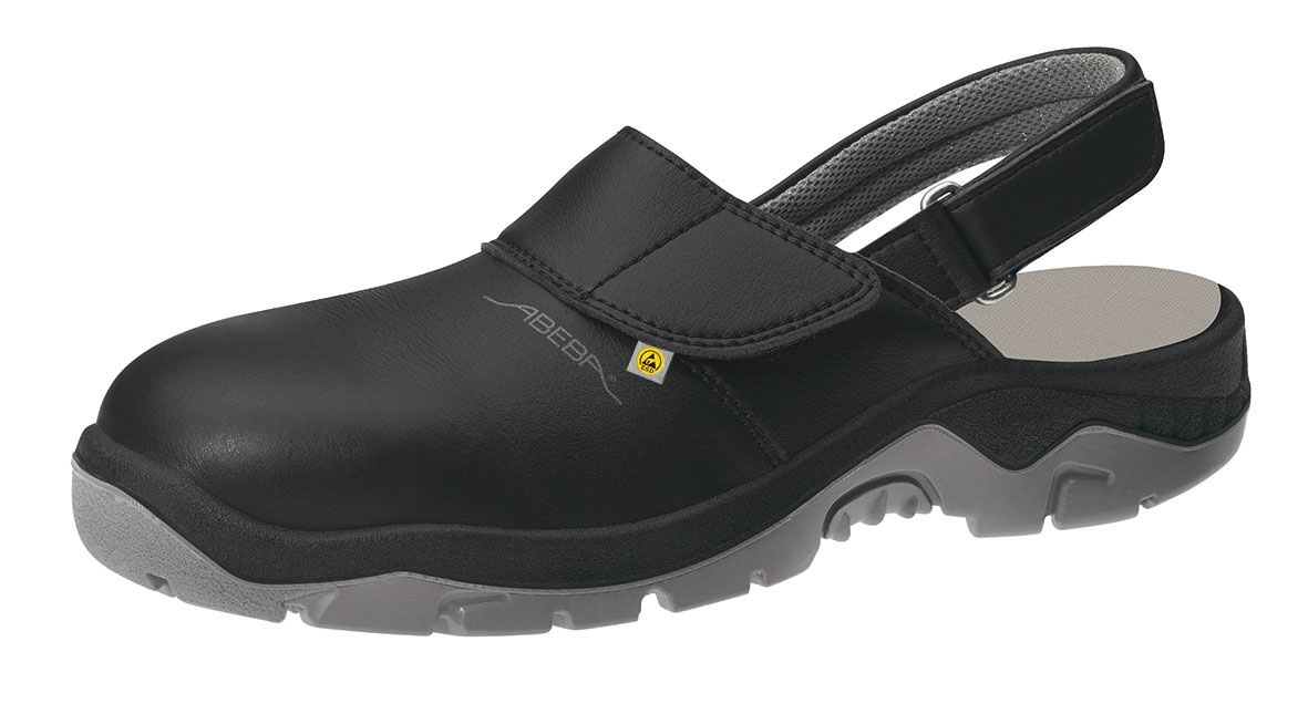 abeba footwear sb damen u herren arbeits berufs sicherheits clogs schwarz. Black Bedroom Furniture Sets. Home Design Ideas